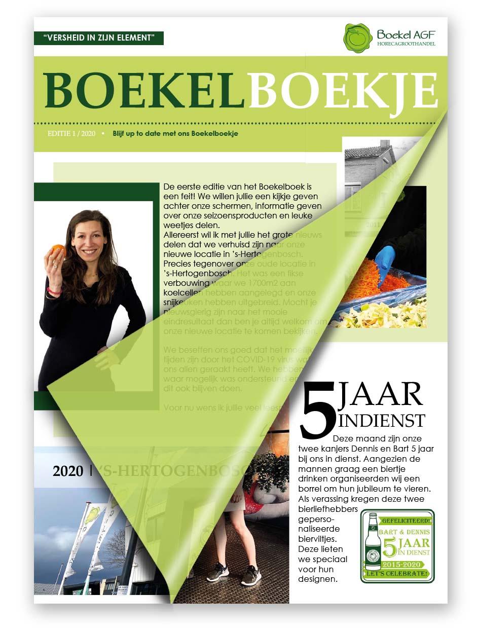 Boekelboekje - Editie 1 -Boekel AGF Horecagroothandel