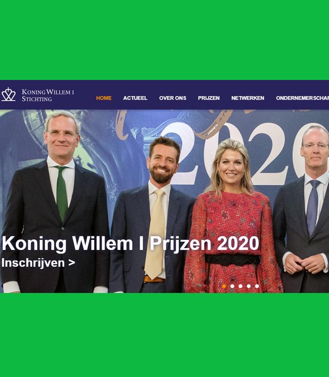 Boekel AGF Horecagroothandel - Koning Willem I Prijs