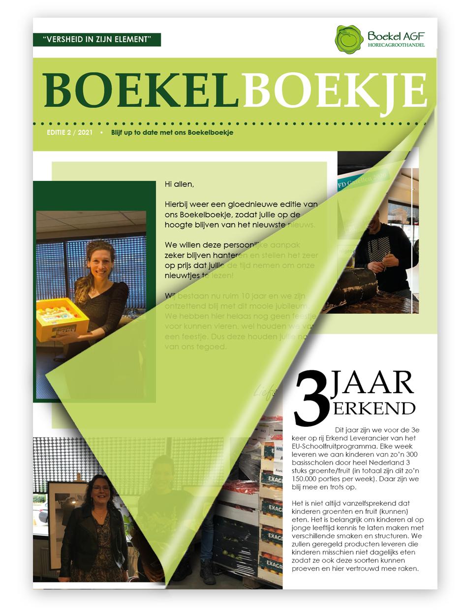 Boekelboekje - Editie 2 -Boekel AGF Horecagroothandel